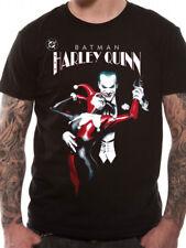 Official DC Comics BATMAN - JOKER & HARLEY QUINN Unisex T-Shirt Tee size S-XXL
