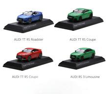 1/43 Dealer version,Audi TT RS Roadster,Audi TT RS Coupe,Audi RS 3 Limousine