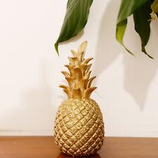 Luxuriöse Gold Harz Ananas Dekor Housewarming Geschenk dekorative