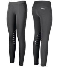Pantaloni Leggings donna equitazione super elasticizzati con elastico in vita