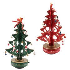 Christmas Decoration Table Wooden Christmas Tree Ornaments Xmas Eve Dinner