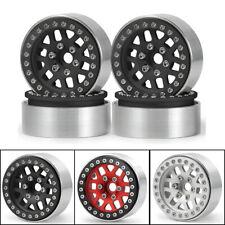 """1/4PCS 1.9"""" Metal Beadlock Wheel Rim for 1/10 RC TRX4 SCX10 CC01 D90 Redcat Gen8"""