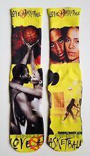 Custom Love & Basketball  Dry Fit socks movie classic sports hip hop rap
