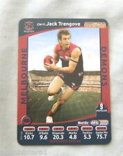 2012 WEETBIX AFL CAPTAIN CARD - JACK TRENGOVE, MELBOURNE DEMONS