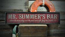Custom Bar / Pub w/ Slogan Sign - Rustic Hand Made Vintage Wooden ENS1000587