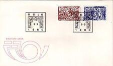 Norway 1980 Nordic Postal CO-OP SG 863/4 FDC