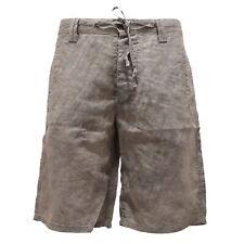 6002S bermuda uomo MESSAGERIE grigio pantalone short pant men