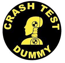 Crash Test Dummy Sticker Decal R4640 Crash Test Dummies