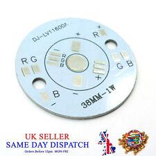 Aluminio de Luz LED RGB 38 mm 3x1W PCB placa de circuito Placa De Alta Potencia 3 W