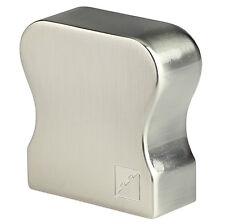 Richard Burbidge HDR Profile Handrail End Cap - Chrome, Nickel.