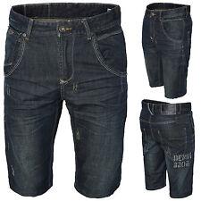 CORTI PANTALONCINI di Jeans da uomo bermuda h-070 w28-w38