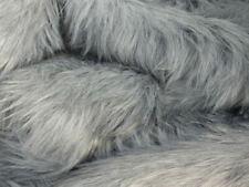 Faux fur Fabric - Luxury Grey Marl Shag 60mm Pile - Mohair bears - Artist Bear