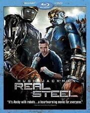 Real Steel [2 Discs] [Blu-ray/DVD] Blu-ray Region A BLU-RAY/WS