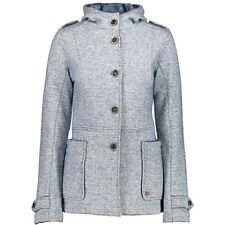CMP giacca funzionale Cardigan Giacca di lana Blau ISOLAMENTO TERMICO cappuccio