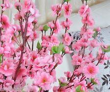 5PCS Artificial 125cm Plum Blossom Peach Flower Wedding Party Home Shop Decor
