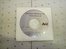 Avid Unity Mediarray ZX Recovery CD - 0010-06359-01
