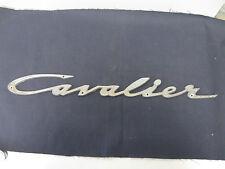 "Chris Craft "" Cavalier ""  Logo Script Emblem Nameplate"