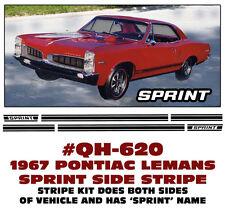 QH-620 1967 PONTIAC LEMANS - SPRINT SIDE STRIPE KIT - HAS SPRINT NAME
