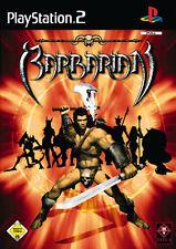Barbarian PS2 Playstation 2