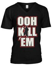 Ooh Kill Em! Cousin Terio Internet Meme Funny Viral Video Mens V-neck T-shirt