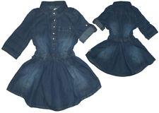 ♠NEU♠ Herrlich weit schwingendes Jeanskleid Langarm reg. von ~ MINYMO ~ Gr.Wahl