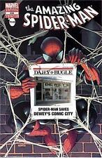 AMAZING SPIDERMAN 666 RARE DEWEY'S COMIC CITY BUGLE VARIANT DEWEYS SOLD OUT NM