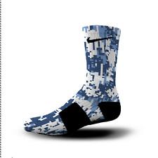 Custom Nike Elite Socks All Sizes NORTH CAROLINA DIGITAL CAMO