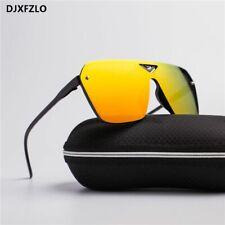 Retro Sunglasses Oversized Men Sunglasses Mirrored Plastic Frame Sports Driving