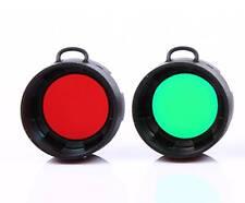 Olight FM10 Red or Green Filter for S10 S10R S20 S20R S15 S15R ST25 M10 M18