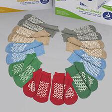 Soft Sole Slipper Socks, Non Skid Hospital Travel Slipper Socks.