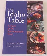 cookbook IDAHO TABLE intermountain west recipes