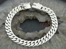 PANZERARMBAND 8MM BREITSilberarmband 925 Silber PANZER Armband bracelet
