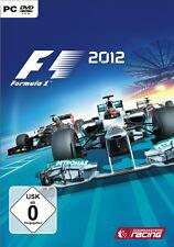 F1 2012 PC DVD ROM box set software pirámide Game juego dt utilizarla nuevo embalaje original