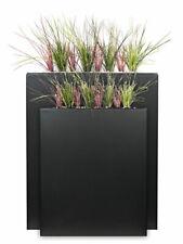 PFLANZWERK® Design Pflanzkübel DIVIDER in trendigem Anthrazit - Größe wählbar