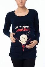 Umstandsshirt Umstandsmode Mama T-Shirt Motiv Schwangerschaft Geschenk Je t´aime