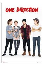 88216 One Direction Without Zayn Portrait Decor LAMINATED POSTER DE