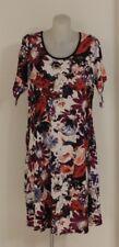 Ladies Stretch Shift DRESS short sleeve EVERSUN PLUS size 10 12 14 16 18 20