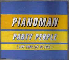 Pianoman- Party People cd maxi single