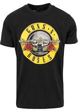 Guns nム Roses Logo Tee shirts Urban Classics Mister Donna Merchcode Streetwear