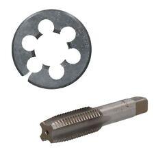 "3/4"" - 1"" UNC Tap & Die Tungsten Steel Taper and 50mm Split Die"