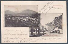 VERBANIA DOMODOSSOLA 119 OSSOLA - VEDUTINE Cartolina viaggiata 1901