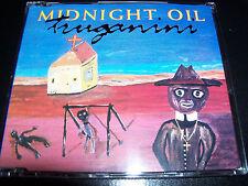 Midnight  Oil Feat Peter Garrett Truganini / Bushfire Australian 2 Trk CD Single