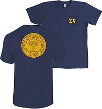 Sigma Chi Fraternity Seal Bella + Canvas POCKET Shirt - MORE COLORS
