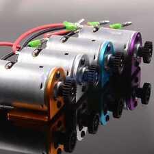 Motor 540 & 27T Motor Gear & Motor Mount Aluminum For WLtoys 1/18 A959 A969 A979