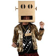 Shuffle Bot Costume and Head Adult LMFAO Robot Pete Halloween Fancy Dress