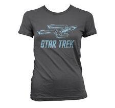 Officially Licensed Star Trek / Enterprise Ship Women T-Shirt S-XXL Sizes