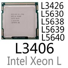 intel Xeon L3406 L3426 L5630 L5638 L5639 L5640 LGA1366 CPU Processor