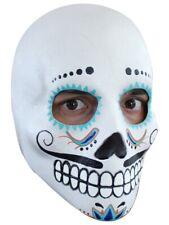 Máscara de Cabeza día de los muertos-Catrin parte del cuerpo Halloween Utilería sin cabeza