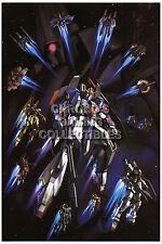 RGC Huge Poster - Mobile Suit Zeta Gundam Anime Poster Glossy Finish - GUNZ01