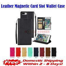 "Leather Magnetic Card Slot Wallet Flip Case for iPhone 6 Plus & 6S Plus (5.5"")"